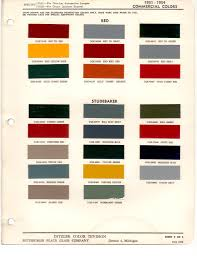 Paint Chips by Paint Chips 1951 Studebaker Truck Fleet Commercial