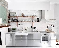 stainless steel kitchen cabinets ikea the most stylish ikea kitchens we ve seen scandinavian