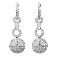 diamond dangle earrings diamond dangle earrings minneapolis mn wixon jewelers