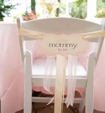 baby shower chair decorations to be chair sign baby shower decoration in my