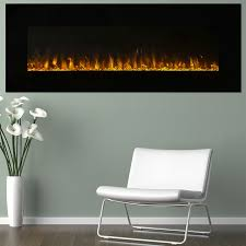 amazon com electric fireplace wall mounted led fire and ice