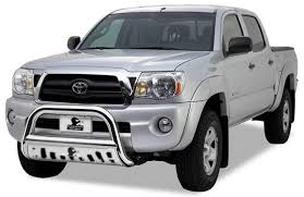 2006 toyota tacoma bull bar bull bar bb096409 sp stainless steel with stainless steel skid