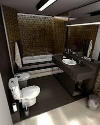 Small Bathroom Design Ideas With Ceramic Flooring Toilet Round - Small bathroom design