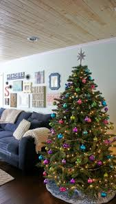 christmas home tour living in yellow