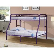 Purple Bunk Beds Metal Bunk Bed In Purple