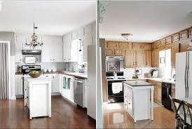 painting kitchen cabinets white color modern kitchen 2017