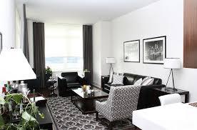 Living Room Black Sofa Gray And Black Living Room Home Design Plan