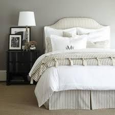 White Stripe Duvet Cover Black And White Stripe Bedding Foter