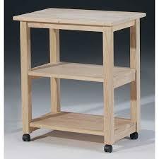 kitchen island microwave cart international concepts unfinished wood microwave cart microwave