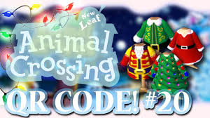 animal crossing new leaf qr codes christmas special episode