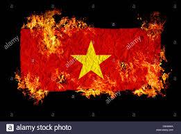 Viet Nam Flag National Symbols And Flag Of Vietnam Stock Photo Royalty Free