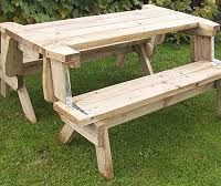 Foldable Picnic Table Plans by Buildeazy 5 Downloadable Woodworking Plans Page 3