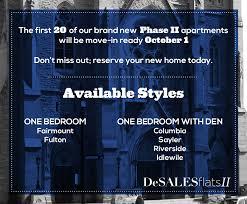 1 Bedroom Apartments Cincinnati Desales Flats Apartments In Cincinnati Oh
