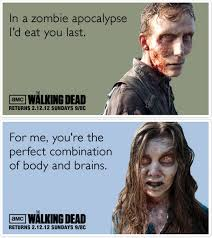 Walking Dead Valentines Day Meme - here are 25 funny pop culture valentines to win over the most
