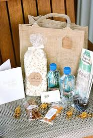 wedding gift bag ideas out of town wedding guest gift basket ideas wedding guest gift