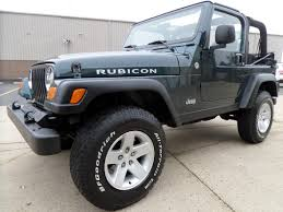 grey jeep rubicon lifted highland motors chicago schaumburg il used cars details