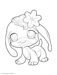 download coloring pages littlest pet shop coloring pages