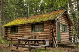 build a simple log cabin diy mother earth news