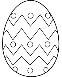 abstract easter coloring pages easter egg with abstract pattern coloring page free printable