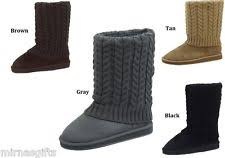 womens knit boots knit boots ebay