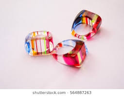 plastic rings images Plastic rings filled strip colorful inside stock photo edit now jpg