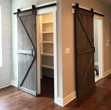 Sliding Barn Doors For Closets 30 Sliding Barn Door Designs And Ideas For The Home