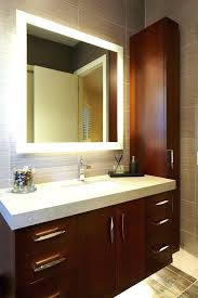 Lighted Mirrors For Bathrooms Lighted Bathroom Vanity Mirrors Lights Lighted Bathroom Mirror