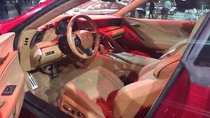 lexus lc 500 detroit 2016 naias detroit 2016 lexus lc500 interior youtube