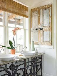 Wrought Iron Bathroom Furniture Creative Bathroom Cabinet Ideas