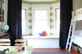 Nursery Curtain Ideas by Amazing Kids Room Design Ideas Presenting Green Painted Wooden F