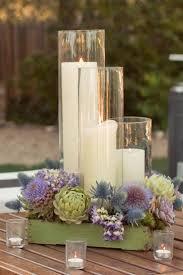 candle arrangements wedding tables wedding table candle arrangements the impressive
