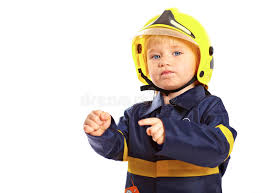 Fireman Costume Little Boy In Fireman Costume Stock Photography Image 18970762