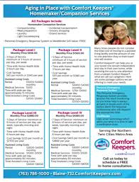 Comfort Keepers Schedule Homecare L Aging Care Anoka Mn