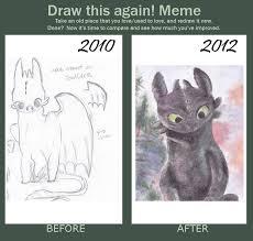 Toothless Meme - draw again meme toothless by pieam on deviantart