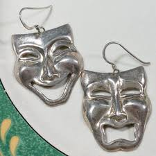 silver mardi gras mask shop vintage mardi gras masks on wanelo