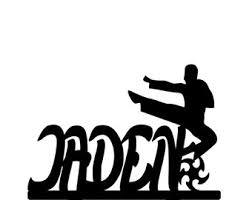karate cake topper judo cake topper etsy