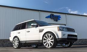 white range rover land rover u2014 dreamworks motorsports