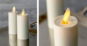 luminara votive candle battery op moving 3 25in ivory 2