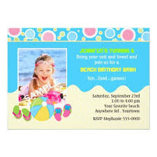 390 best flip flops birthday party invitations images on pinterest