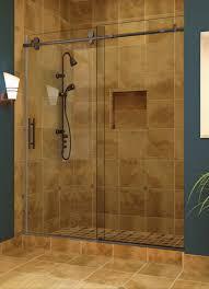 Shower Stall With Door Bathrooms Design Shower Enclosures One Shower Kit Shower