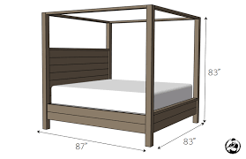 diy canopy bed canopy bed king size rogue engineer