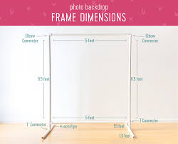 Backdrop Frame Diy Photo Backdrops For The Ultimate Party Gifts Com Blog