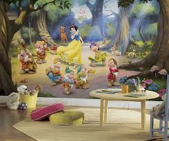 snow white and the seven dwarfs xl wallpaper mural 10 5 x 6 snow white and the seven dwarfs xl wallpaper mural 10 5 x 6