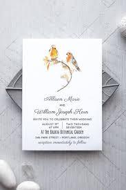 bird wedding invitations bird printable wedding invitation alchemie press