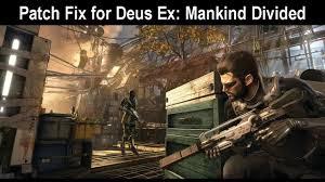 deus ex mankind divided no sound fix no voices no music how to