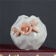 White Home Decor Accessories Compare Prices On Flower Arrangement Containers Online Shopping