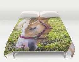 horse duvet cover etsy