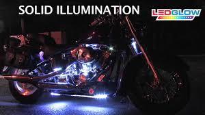 white led motorcycle light kit white led flexible motorcycle lighting kit youtube