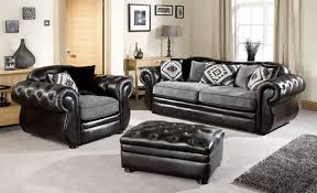 Fabric Leather Sofa Stunning Fabric Leather Sofa Leather Fabric Sofas Uk Interiorvues