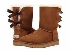 ugg bailey bow navy blue sale ugg australia womens bailey bow ii boots chestnut ebay